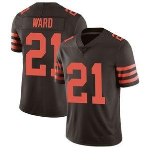 #21 Ward Brown Vapor Untouchable Limited Jersey